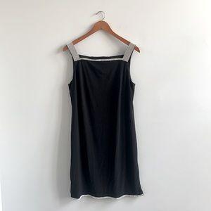 New Dress Barn Black Stretchy Evening Dress